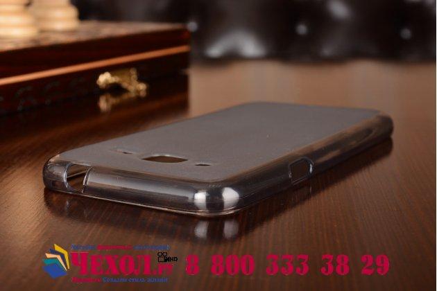 """Фирменная ультра-тонкая полимерная из мягкого качественного силикона задняя панель-чехол-накладка для Samsung Galaxy J3 (2016) SM-J320F/DS/J320H/DS 5.0"""" черная"""
