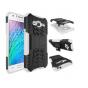 Противоударный усиленный ударопрочный фирменный чехол-бампер-пенал для Samsung Galaxy J3 J300/ J3109 (5.0