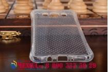 Фирменная ультра-тонкая полимерная из мягкого качественного силикона задняя панель-чехол-накладка для Samsung Galaxy J5 2016 SM-J510H/DS/ J510F/DS белая