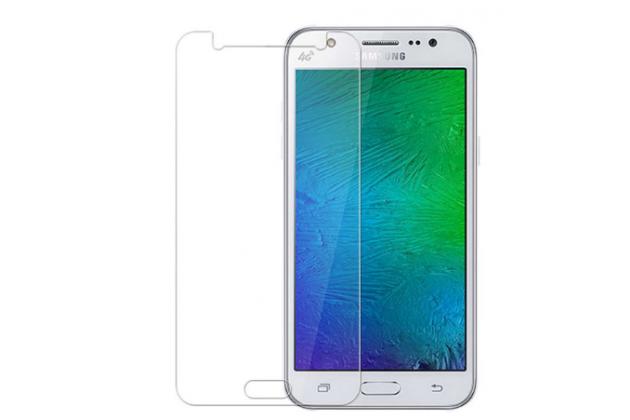 Фирменная оригинальная защитная пленка для телефона Samsung Galaxy J5 2016 SM-J510H/DS/ J510F/DS глянцевая
