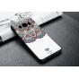 Фирменная роскошная задняя панель-чехол-накладка из мягкого силикона с объемным  3D изображением на Samsung Ga..