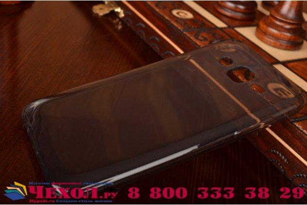 Фирменная ультра-тонкая полимерная из мягкого качественного силикона задняя панель-чехол-накладка для  Samsung Galaxy J5 SM-J500F/DS/Dual Sim/Duos черная