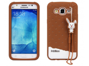 Фирменная необычная уникальная полимерная мягкая задняя панель-чехол-накладка для Samsung Galaxy J5 SM-J500F/D..