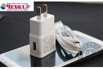 Фирменное оригинальное зарядное устройство от сети для телефона Samsung Galaxy J5 SM-J500F/DS/Dual Sim/Duos + гарантия