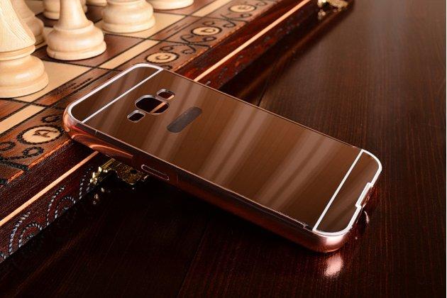 Фирменная металлическая задняя панель-крышка-накладка из тончайшего облегченного авиационного алюминия для Samsung Galaxy J1 2016 SM-J120F/DS розовое золото