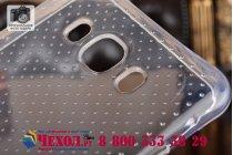 """Фирменная ультра-тонкая полимерная из мягкого качественного силикона задняя панель-чехол-накладка для  Samsung Galaxy J7 2016 SM-J710x/ J710F 5.5"""" прозрачная"""