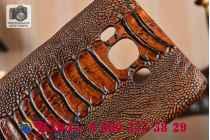 """Фирменная неповторимая экзотическая панель-крышка обтянутая кожей крокодила с фактурным тиснением для Samsung Galaxy J7 2016 SM-J710x/ J710F 5.5"""" . Только в нашем магазине. Количество ограничено."""