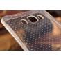 Фирменная ультра-тонкая полимерная задняя панель-чехол-накладка из силикона для Samsung Galaxy J7 2016 SM-J710..