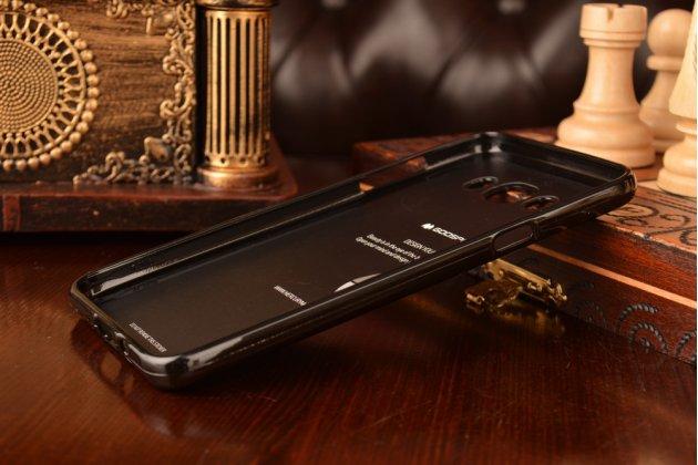 """Фирменная ультра-тонкая полимерная из мягкого качественного силикона задняя панель-чехол-накладка для Samsung Galaxy J7 2016 SM-J710x/ J710F 5.5"""" черная"""