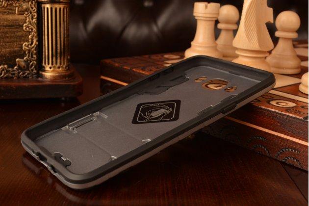 """Противоударный усиленный ударопрочный фирменный чехол-бампер-пенал для Samsung Galaxy J7 2016 SM-J710x/ J710F 5.5"""" черный"""