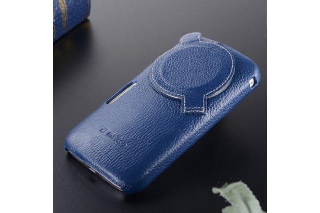 Фирменная ультра-тонкая полимерная из мягкого качественного силикона задняя панель-чехол-накладка для Samsung Galaxy K Zoom SM-C115 / C1116 синяя