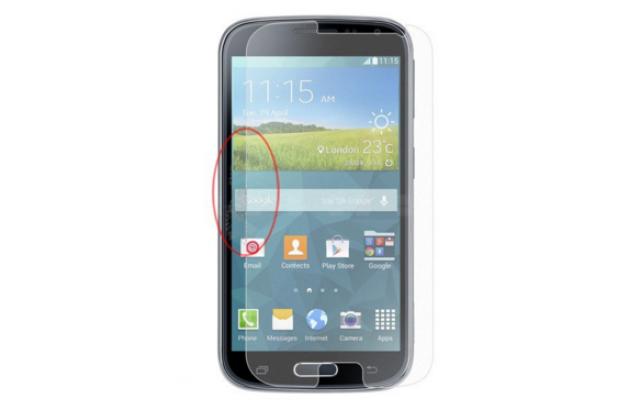 """Фирменная оригинальная защитная пленка для Samsung Galaxy K Zoom SM-C115 / C1116"""" матовая"""