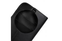 Фирменный чехол-книжка из качественной импортной кожи с подставкой застёжкой и визитницей для Samsung Galaxy K Zoom SM-C115 / C1116 черный