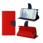 Чехол-книжка для Samsung Galaxy Mega 5.8 GT-i9150/i9152 красный кожаный..