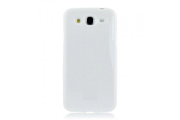 Фирменная ультра-тонкая полимерная из мягкого качественного силикона задняя панель-чехол-накладка для Samsung Galaxy Mega 5.8 GT-i9150/i9152 белая