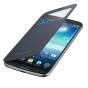 Фирменный оригинальный чехол Flip-cover для Samsung Galaxy Mega 6.3 i9200/i9205 черный с окошком для входящих ..
