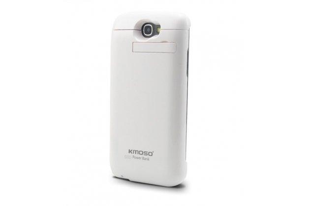 Чехол-книжка со встроенной усиленной мощной батарей-аккумулятором большой повышенной расширенной ёмкости 4200mAh для Samsung Galaxy Note 2 GT-N7100 черный + гарантия