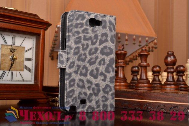 Чехол-защитный кожух для Samsung Galaxy Note 2 GT-N7100/N7105 леопардовый серый