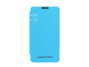 Чехол-книжка для Samsung Galaxy Note 3 SM-N900 бирюзовый кожаный..