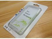 Фирменный оригинальный чехол-бампер для Samsung Galaxy Note 3 белый прорезиненный ..