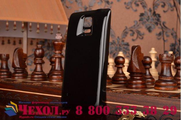 Усиленная батарея-аккумулятор большой повышенной ёмкости 8000mAh для телефона Samsung Galaxy Note 4  + задняя крышка в комплекте черная + гарантия
