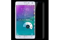 Фирменное 3D защитное изогнутое стекло с закругленным изогнутым краем которое полностью закрывает экран / дисплей по краям с олеофобным покрытием для Samsung Galaxy Note Edge SM-N915F