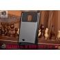 Противоударный усиленный ударопрочный фирменный чехол-бампер-пенал для Samsung Galaxy Note Edge SM-N915F черны..