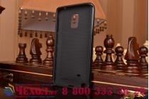 Противоударный усиленный ударопрочный фирменный чехол-бампер-пенал для Samsung Galaxy Note Edge SM-N915F черный