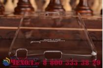 Фирменная ультра-тонкая пластиковая задняя панель-чехол-накладка для Samsung Galaxy Note Edge прозрачная
