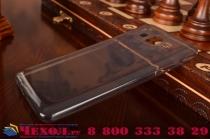 """Фирменная ультра-тонкая полимерная из мягкого качественного силикона задняя панель-чехол-накладка для  Samsung Galaxy On5 G550 5.0"""" черная"""