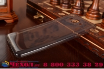 """Фирменная ультра-тонкая полимерная из мягкого качественного силикона задняя панель-чехол-накладка для Samsung Galaxy On7 O7 G600/G6000 5.5"""" черная"""