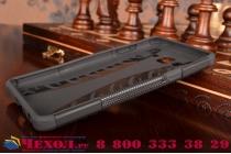 """Противоударный усиленный ударопрочный фирменный чехол-бампер-пенал для Samsung Galaxy On7 O7 G600/G6000 5.5""""  черный"""
