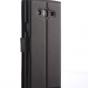 """Фирменный чехол-книжка из качественной импортной кожи с подставкой застёжкой и визитницей для Самсунг Галакси Он7 О7 Г600/Джи6000 5,5"""" черный"""