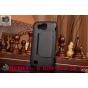 Чехол-футляр-подставка для Samsung Galaxy Premier GT-i9260 черный с застежкой кожаный..