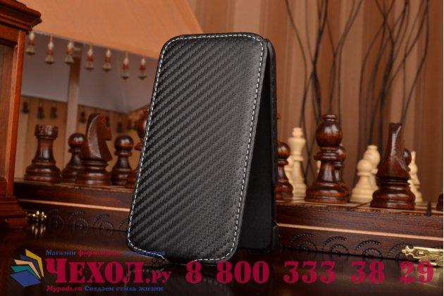 Фирменный вертикальный откидной чехол-флип для Samsung Galaxy Premier GT-i9260 черный кожаный