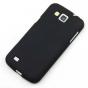 Фирменная ультра-тонкая пластиковая задняя панель-чехол-накладка для Samsung Galaxy Premier GT-i9260 черная ма..