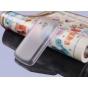 Фирменная ультра-тонкая пластиковая задняя панель-чехол-накладка для Samsung Galaxy S Duos GT-S7562 белая мато..