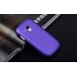 Фирменная ультра-тонкая пластиковая задняя панель-чехол-накладка для Samsung Galaxy S3 Mini GT-i8190 фиолетова..
