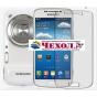 Фирменная оригинальная защитная пленка для телефона Samsung Galaxy S4 Zoom SM-C101 глянцевая..