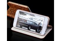 Фирменный роскошный эксклюзивный чехол с объёмным рельефом кожи страуса коричневый для Samsung Galaxy S4 Mini / S4 Mini Duos GT-i9190/i9192/i9195 . Только в нашем магазине. Количество ограничено.
