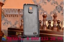 Усиленная батарея-аккумулятор большой ёмкости 4800mAh для телефона Samsung Galaxy S4 Mini / S4 Mini Duos GT-i9190/i9192/i9195 + задняя крышка в комплекте черная + гарантия