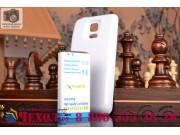 Усиленная батарея-аккумулятор большой ёмкости 3800mAh для телефона Samsung GALAXY S5 mini + задняя крышка в ко..