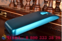 Усиленная батарея-аккумулятор большой ёмкости 4800mAh для телефона Samsung GALAXY S5 mini + задняя крышка в комплекте синяя + гарантия