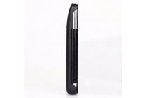 Чехол-книжка со встроенной усиленной мощной батарей-аккумулятором большой повышенной расширенной ёмкости 3800mAh для Samsung Galaxy S5 SM-G900H/G900F черный с окошком + гарантия