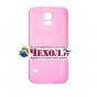 Фирменная ультра-тонкая пластиковая задняя панель-чехол-накладка для Samsung Galaxy S5 / S5 Neo розовая..