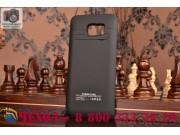 Чехол со встроенной усиленной мощной батарей-аккумулятором большой повышенной расширенной ёмкости 4800 mAh для..