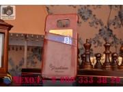 Фирменная роскошная элитная премиальная задняя панель-крышка для Samsung Galaxy S6 Edge Plus + SM-G928 5.7