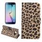 Чехол-защитный кожух для Samsung Galaxy S6 Edge Plus + SM-G928 леопардовый коричневый..