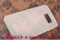 """Фирменная задняя панель-крышка-накладка из тончайшего и прочного пластика для Samsung Galaxy S6 Edge Plus + SM-G928 5.7"""" прозрачная"""