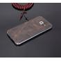 Элитная задняя панель-крышка премиум-класса из тончайшего и прочного пластика обтянутого кожей буйвола для Sam..